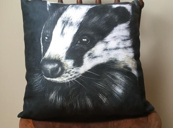 Badger Vegan Suede Cushion