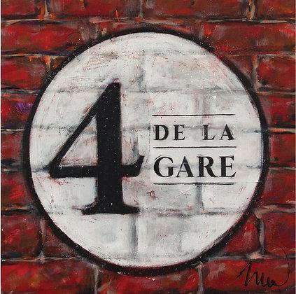 MÉLANGE 4 DE LA GARE