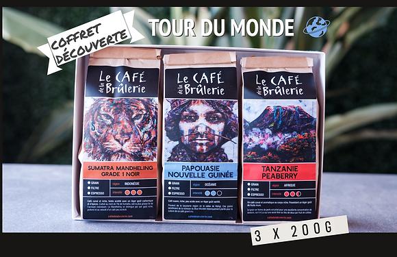 Coffret découverte TOUR DU MONDE 3 x 200g