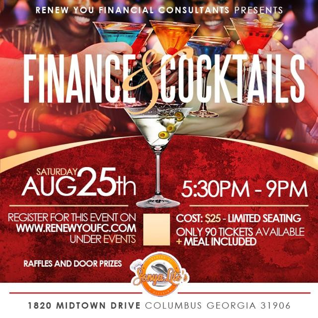 Finance and Cocktails 101