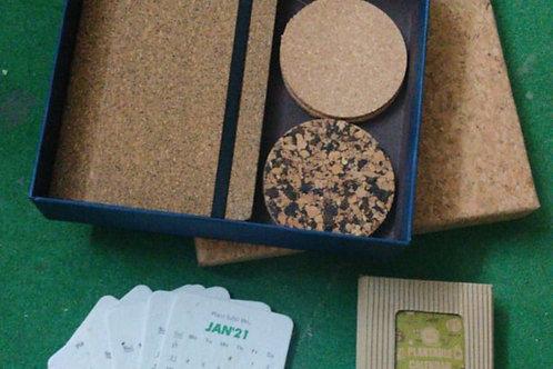 Cork Stationery Box