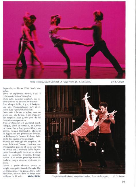 Danse Magazine Paris