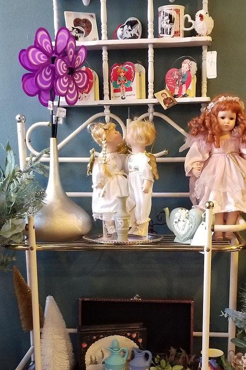 Dolls: Kissing Angels Porcelain Doll Figurines
