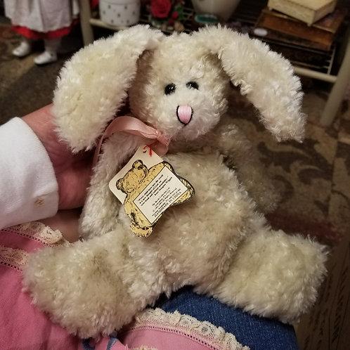 "Plush: Boyd's Bears ""Montgomery Flatstein"" - 8 inch Rabbit - Bears in the Attic"