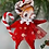 Thumbnail: Holiday CHENILLE REINDEER ORNAMENT by BETHANY LOWE