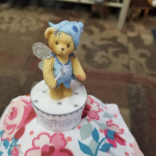 Collectable Figurine: Cherished Teddy My First Tooth Holder