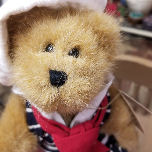 Plush: Boyd's Bear Bailey W Duckie  #9199-24 Patriotic Americana Sailor