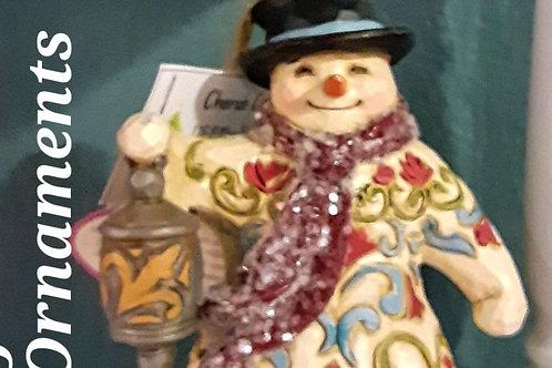 Decoration: Jim Shore Snowman Ornament