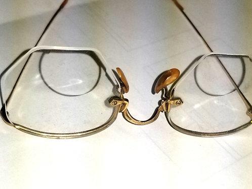Spectacles: Vintage B&L 1/10 12k Gf Arco Reading Glasses