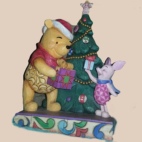 "Jim Shore - Walt Disney Showcase, ""A Christmas Gift of Friendship"" figurine"