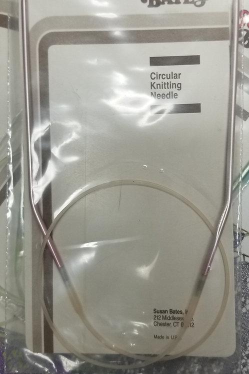 Knitting Needles: New Susan Bates Circular Knitting Needle sz 2/24