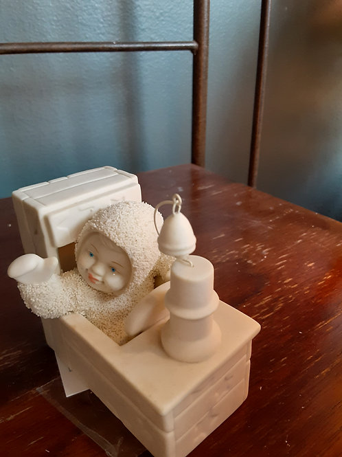 Figurine: Dept. 56 Snow Babies Christmas Train
