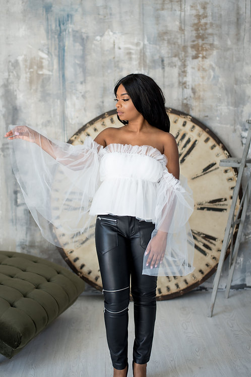 Tinkerbell | Off the Shoulder Blouse
