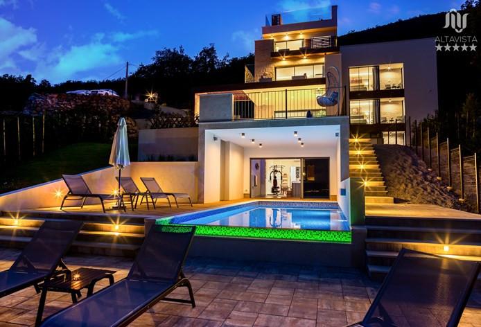 Exklusive Villa bei Opatija