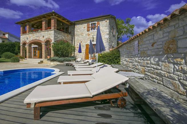 Steinhaus mit Pool bei Porec in Istrien kaufen