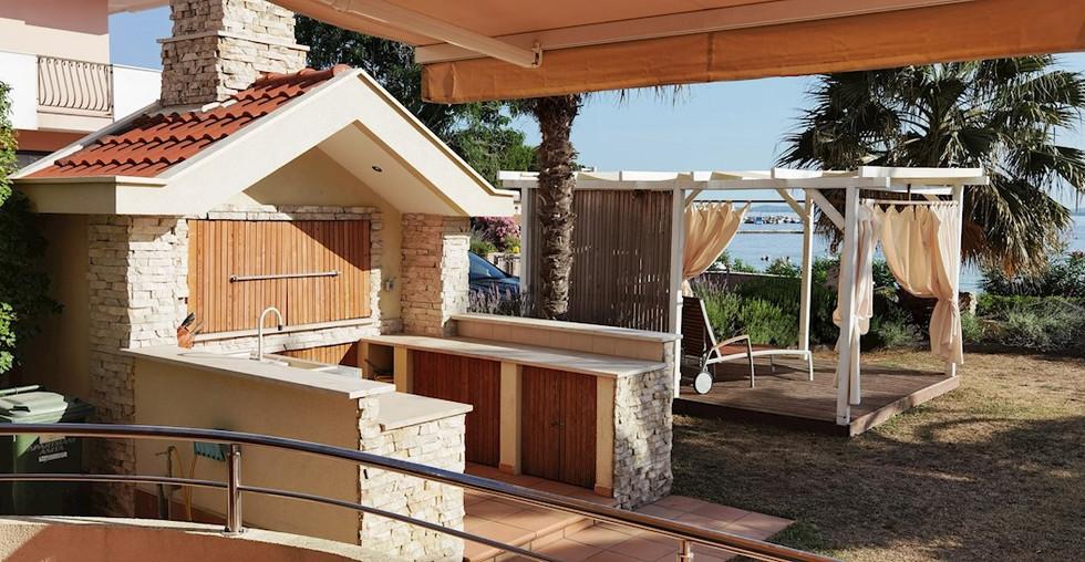 Wohnung zum Verkauf mit Garten und Meerblick
