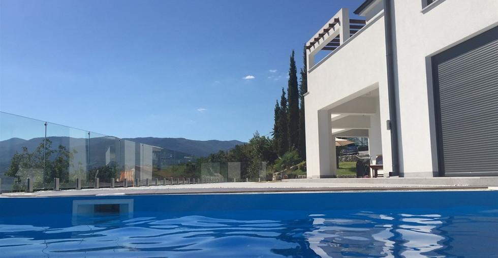Schöne neue moderne Villa bei Opatija zum kaufen