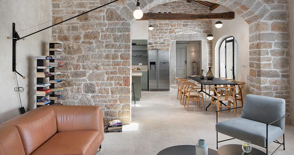 Edle Luxusvilla aus Stein in Kroatien zu kaufen