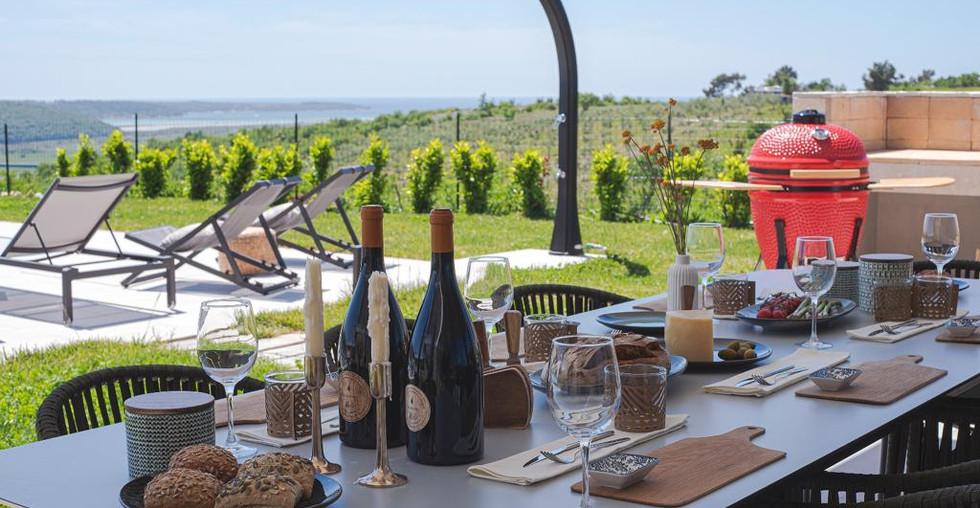 Ferienhaus mit Panoramablick in Istrien Kroatien kaufen
