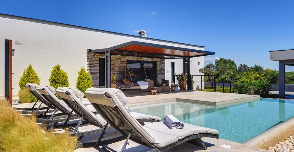 Moderne Villa mit Pool in Kroatien Istrien zum kaufen