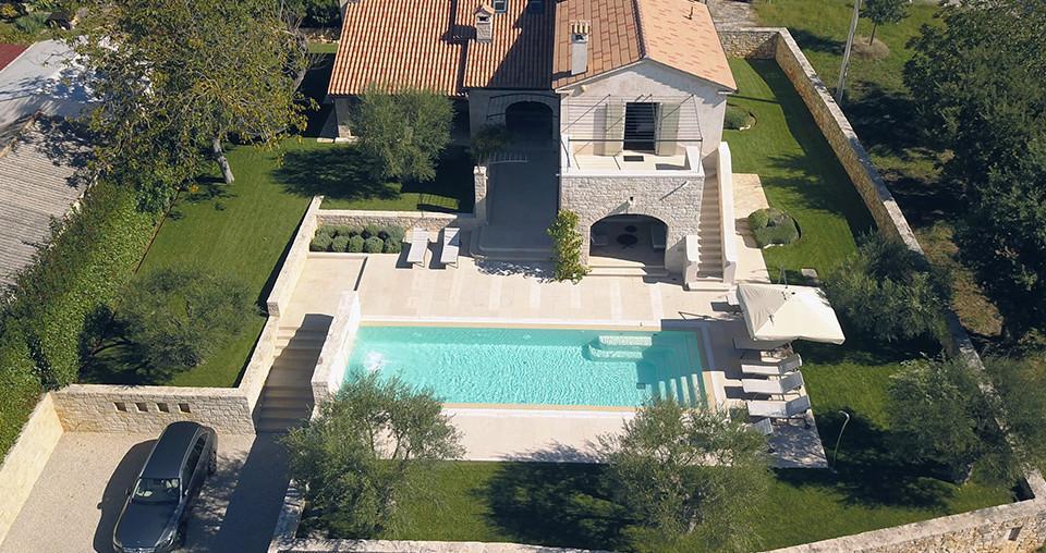 Steinhaus auf wunderschönen Grundstück in Istrien