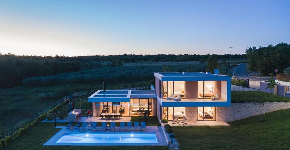 Luxus-Villa mit Meerblick und Pool in Kroatien Istrien zu kaufen