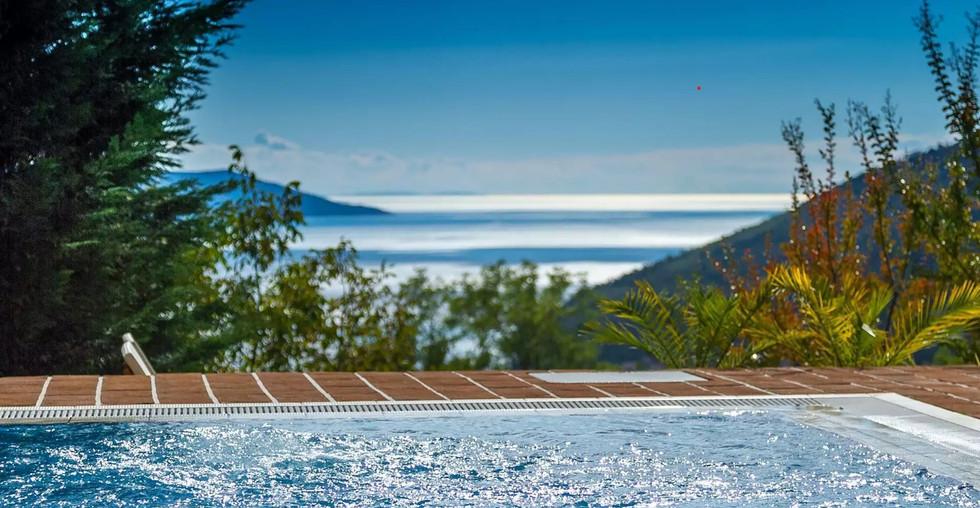 Haus mit Pool und Panoramablick in Kroatien Opatija kaufen