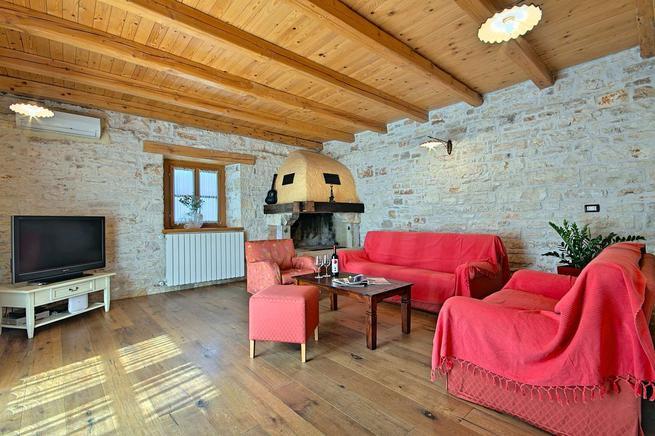 Steinhaus in Istrien
