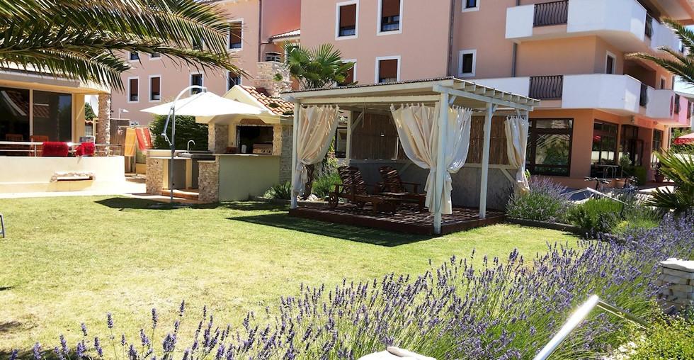 Wohnung am Strand bei Zadar