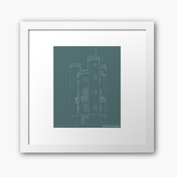 Broadway Tower Framed Artwork