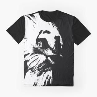 Glaring Vulture Graphic T-Shirt