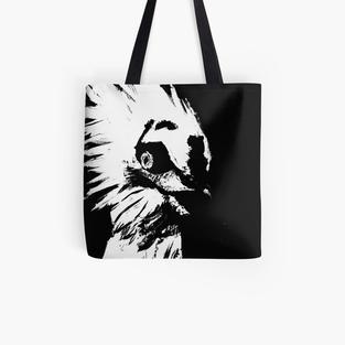 Glaring Vulture Tote Bag