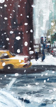 Snow in NYC Print