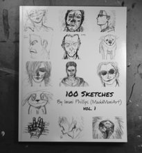100 Sketches vol.1 (softcover)