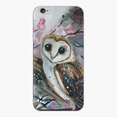 Barn Owls & Cherry Trees Phone Case
