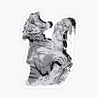 """Tiger"" Sticker"