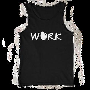 Work - Unisex Tank Top (Black)
