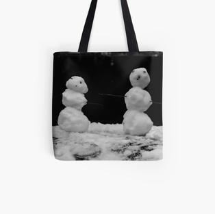 Snow Friends Tote Bag