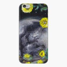 Moon Flowers Phone Case
