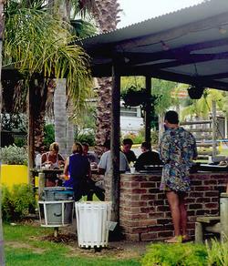 Batemans Bay Holiday Park BBQ area