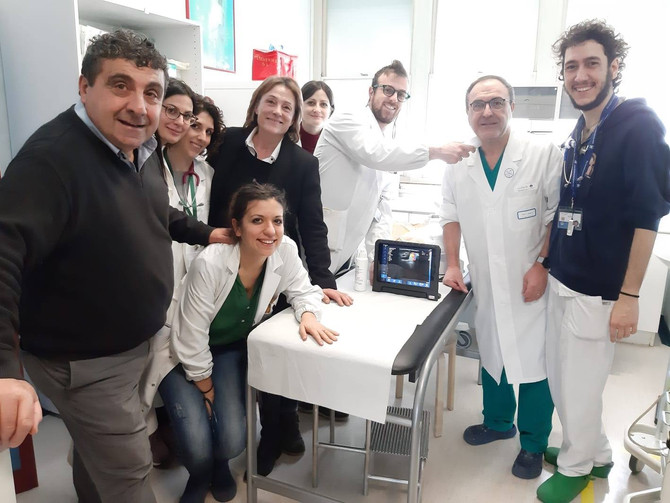 Dopo quello del pronto soccorso donato un'altro ecografo al reparto pediatrico