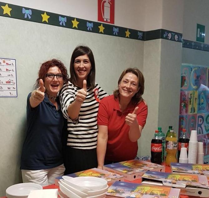 Pizza Party Natalizio in Pediatria            all'Ospedale di Velletri