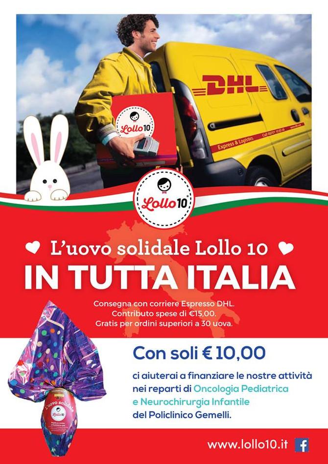 Le Uova di Lollo 10 in Tutta Italia