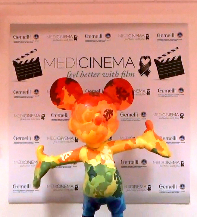 Gran finale di stagione con MediCinema, il grande schermo per i piccoli pazienti del Gemelli e le so