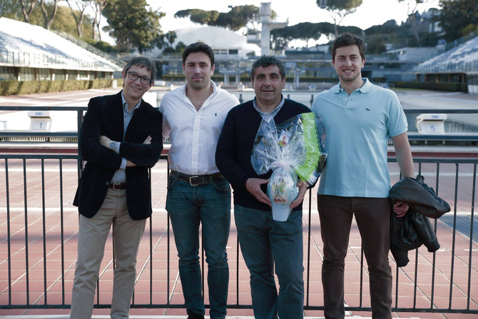 Roma Nuoto: Pronti a vincere per Lollo10