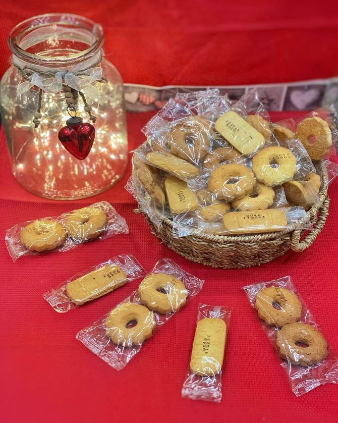 Donati 44.000 biscottini monoporzione 🍪🥰❤️