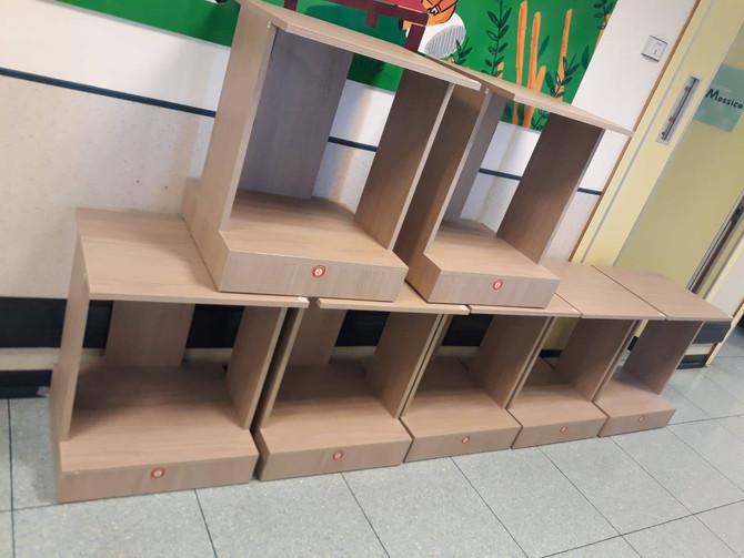 Nel reparto di Oncologia sono arrivati i mobili portafrigo.