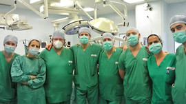 Complimenti all'equipe medica