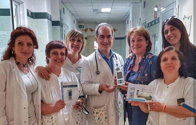 Lollo10 dona un pulsiossimetro all'Ospedale di Velletri