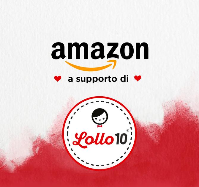 Amazon a supporto di Lollo10